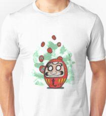 Daruma Doll Cartoon T-Shirt
