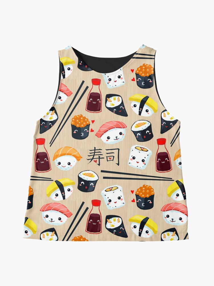Alternate view of Kawaii Sushi Sleeveless Top