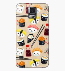 Kawaii Sushi Hülle & Klebefolie für Samsung Galaxy