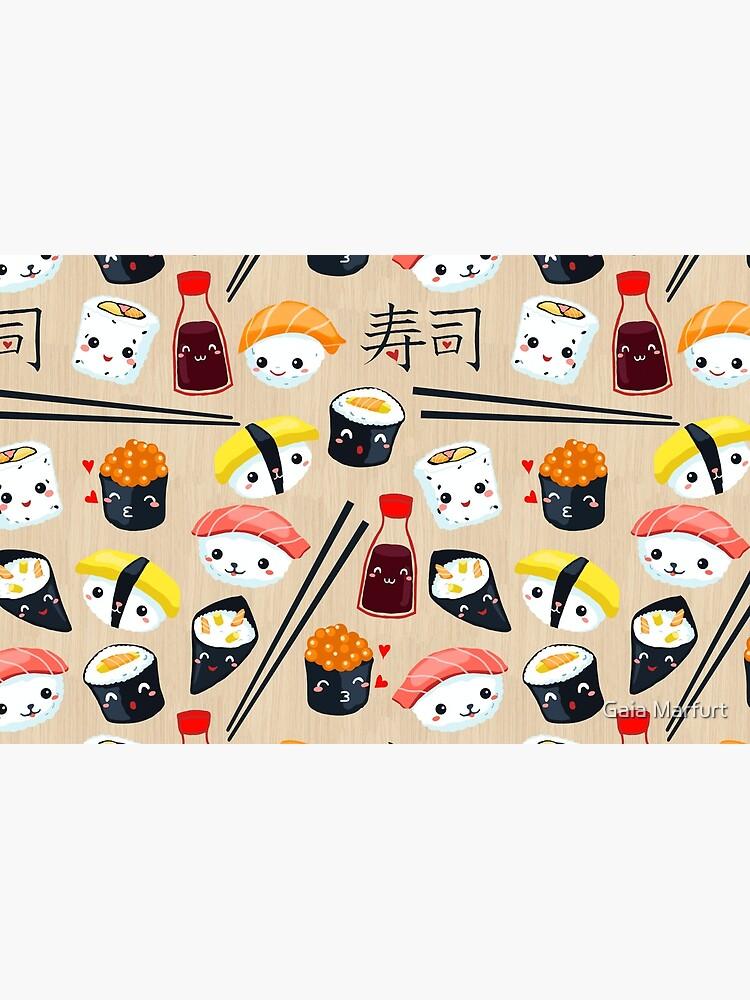 Kawaii Sushi by gaiamarfurt
