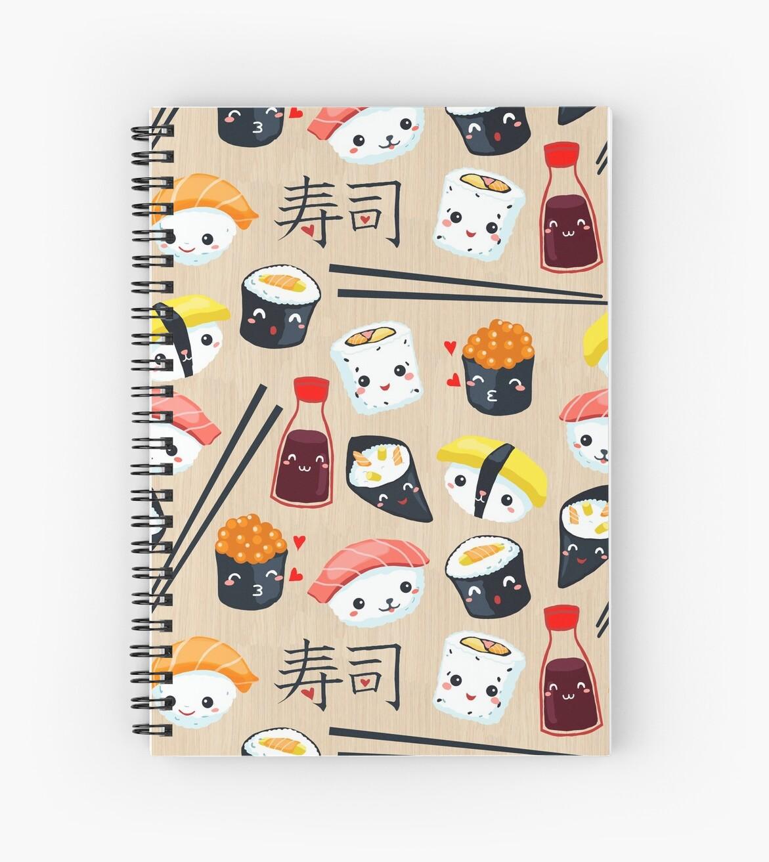 Kawaii Sushi by Gaia Marfurt