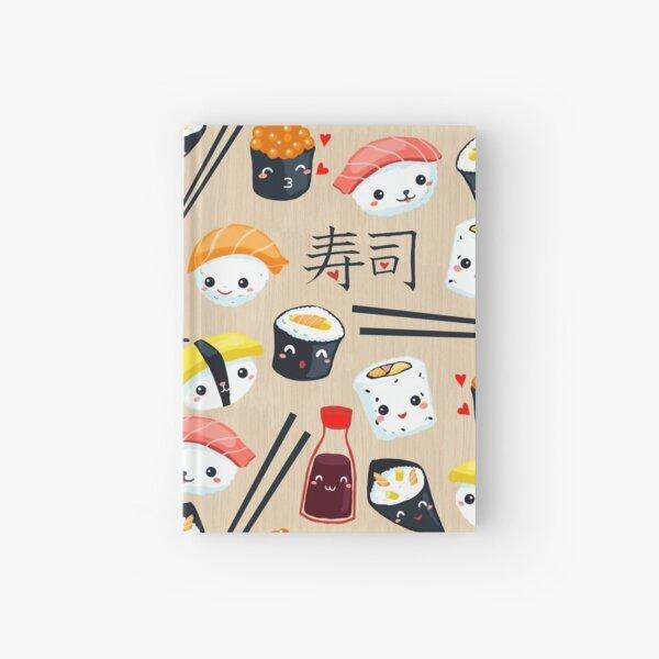 Kawaii Sushi Hardcover Journal