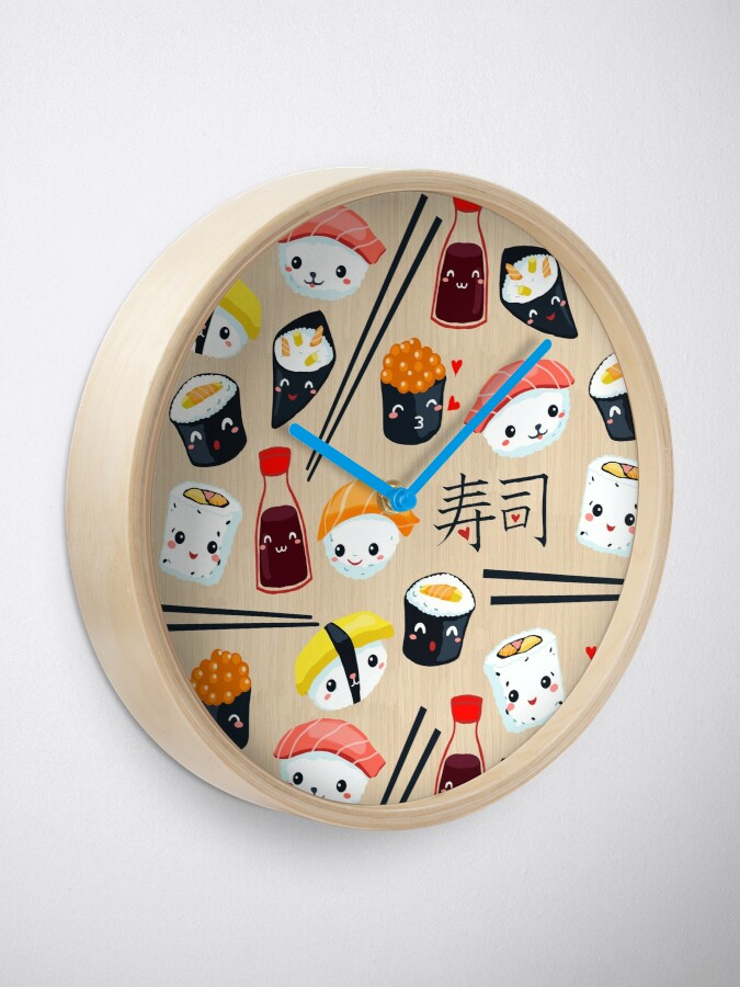 Alternate view of Kawaii Sushi Clock