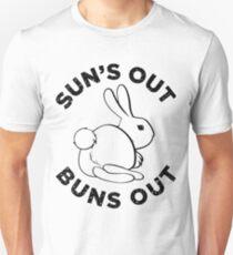 Die Sonne geht raus Brötchen! Slim Fit T-Shirt
