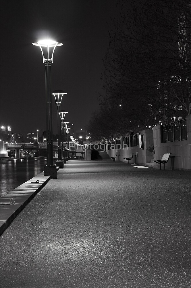 South Bank in Melbourne by iPhotograph