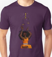 Justice Shackled Unisex T-Shirt