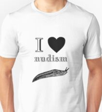 I Love Nudism T-Shirt