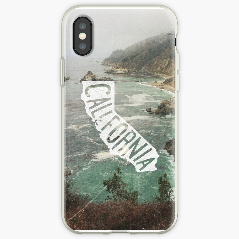 California Funda y vinilo para iPhone