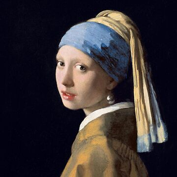 Johannes Vermeer - Girl with a Pearl Earring by mosfunky