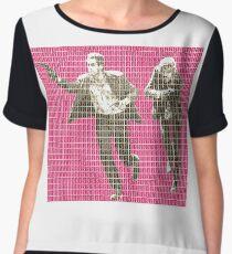 Butch and Sundance - Pink Women's Chiffon Top