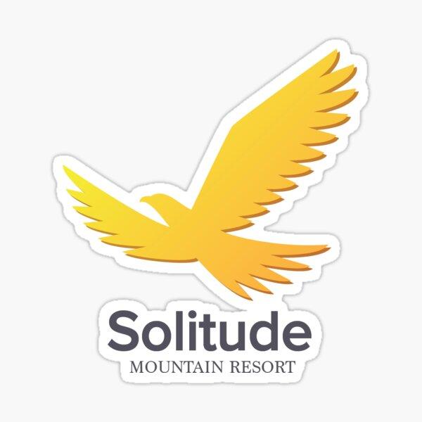 solitude mountain resort Sticker