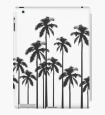 Black and White Exotic Tropical Palm Trees iPad Case/Skin