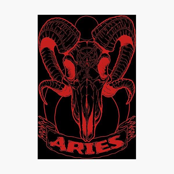 Aries (red) Fotodruck