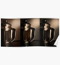 Cafetiere Poster