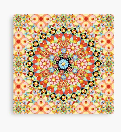Gypsy Caravan Mandala Canvas Print