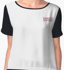 Disco Tesco Chiffon Top