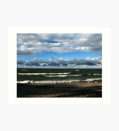 Lake Erie Peaceful  Art Print