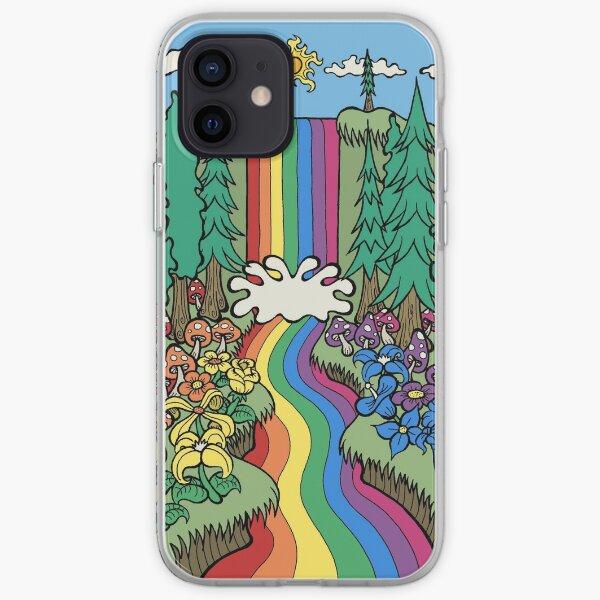 Rainbow Waterfall iPhone Soft Case