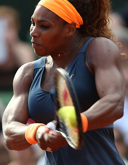 Serena Williams by Srdjan Petrovic