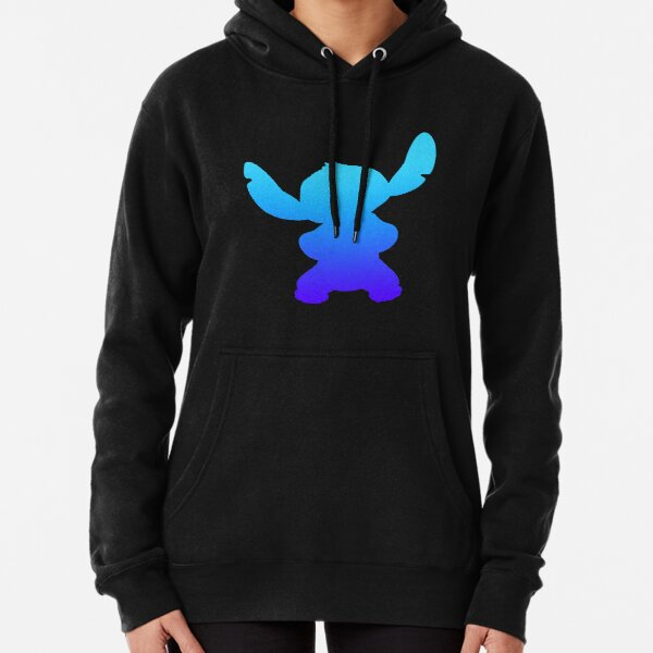 Ombre Stitch Pullover Hoodie
