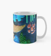 abstract embroidery Mug