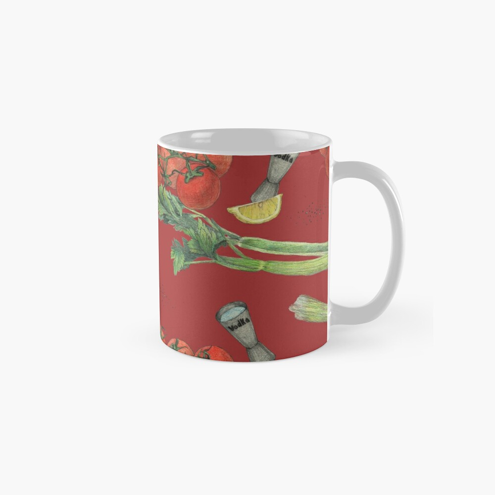 bloody mary recipe Mug