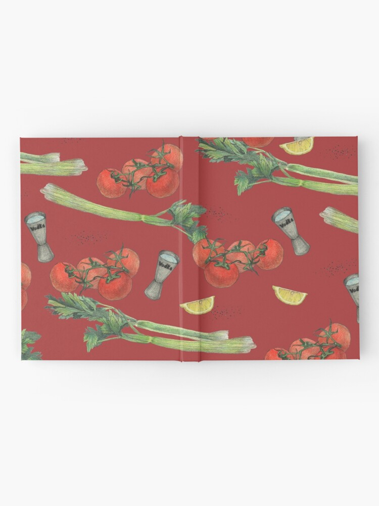 Alternate view of bloody mary recipe Hardcover Journal