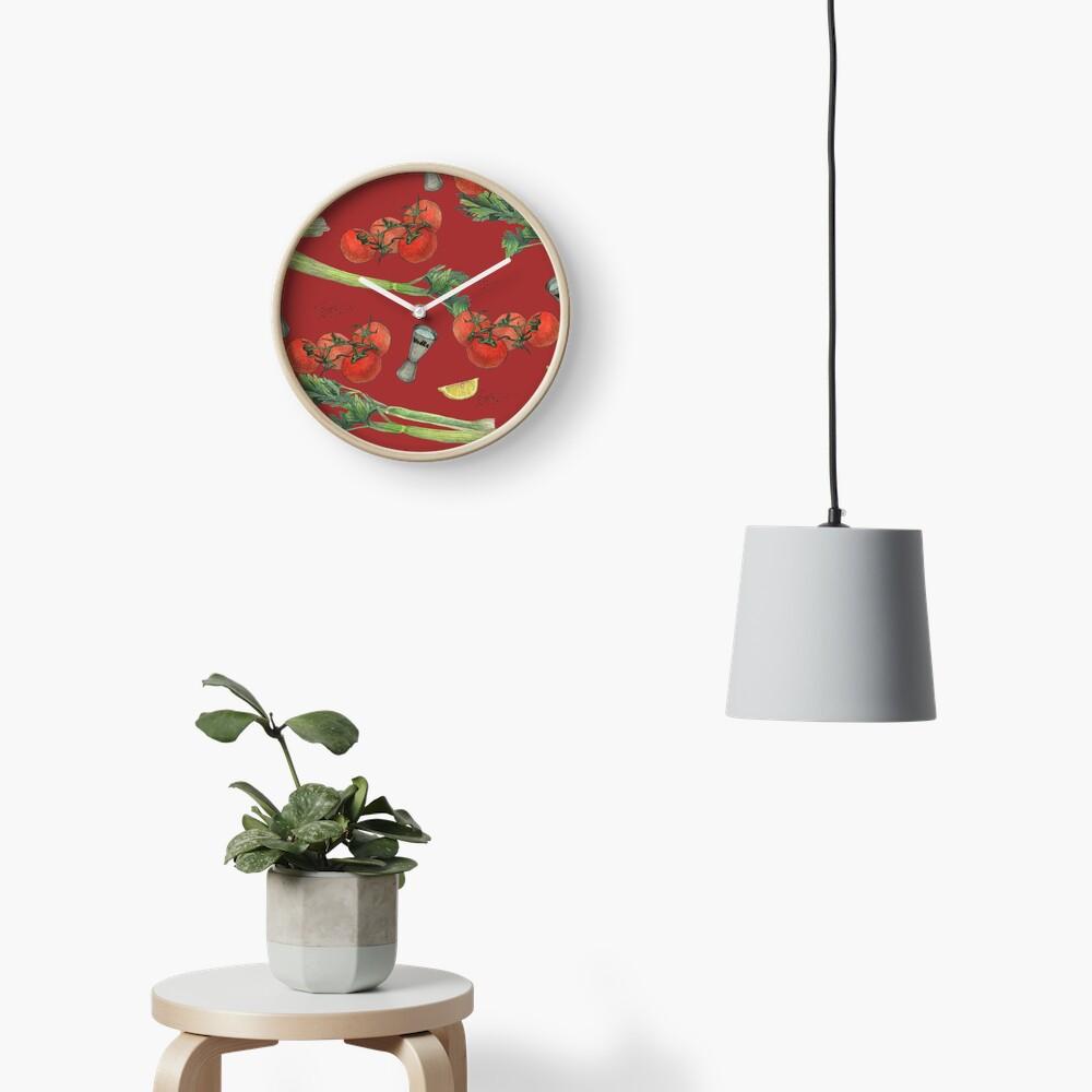 bloody mary recipe Clock