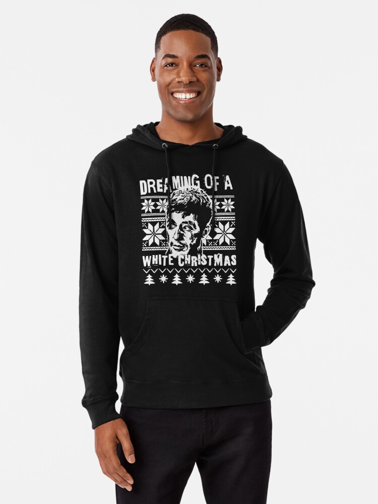 Scarface Christmas Sweater Print Lightweight Hoodie By