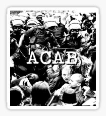 ACAB Sticker