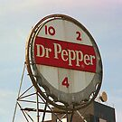 Dr. Pepper Bottle Top by Frank Romeo