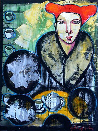 """""""Tea for Two Sueno"""" by Yolanda Gonzalez"""