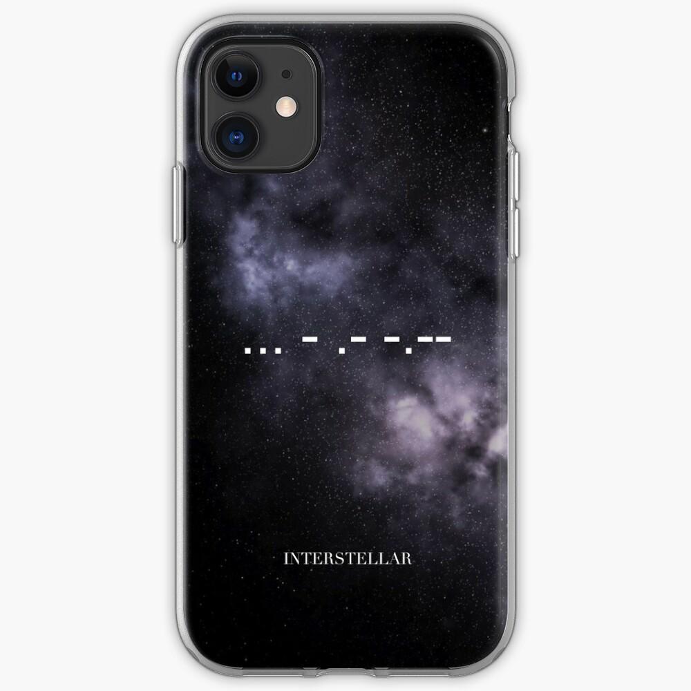 Interstellar  ... - .- -.- iPhone Case & Cover