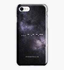 Interstellar  ... - .- -.- iPhone Case/Skin