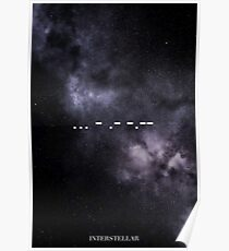 Interstellar  ... - .- -.- Poster