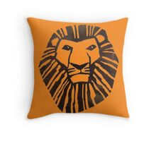 Lion King Logo Throw Pillow