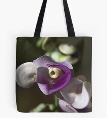 Snail Flower Tote Bag