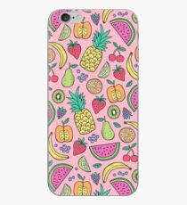 Fruit on Pink iPhone Case