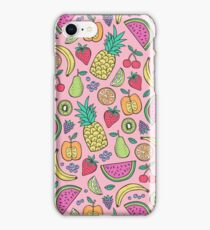 Fruit on Pink iPhone Case/Skin