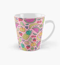 Fruit on Pink Tall Mug