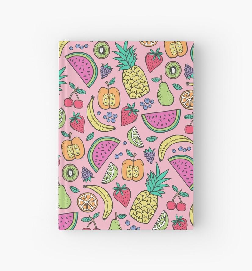 «Fruta en rosa» de CajaDesign
