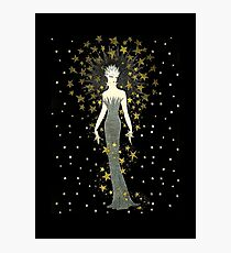 "Art Deco Illustration ""Star Struck"" by Erté Photographic Print"