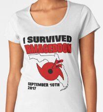 I survived hurricane Irma - Irmageddon Women's Premium T-Shirt