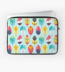 Fun Feathers (blue version) Laptop Sleeve