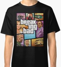 Breaking Bad GTA Style Classic T-Shirt