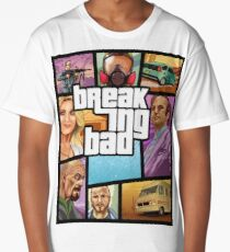 Breaking Bad GTA Style Long T-Shirt