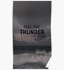 Imagine Dragons Thunder Poster