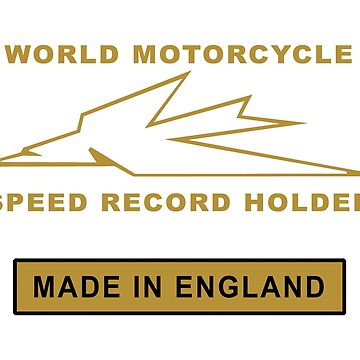 Motorcycle World Speed Record by rogue-design