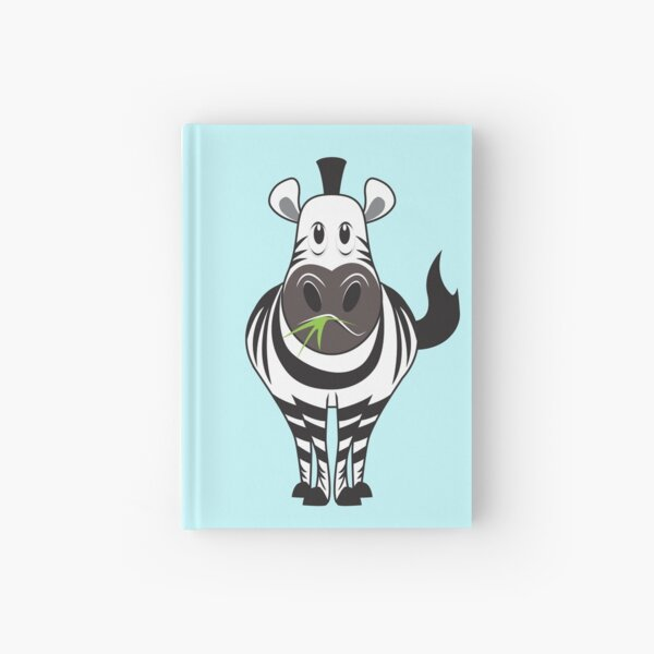 Zippy the Zebra Hardcover Journal