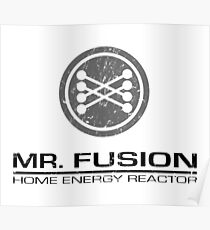 back to the Future - Mr Fusion Poster